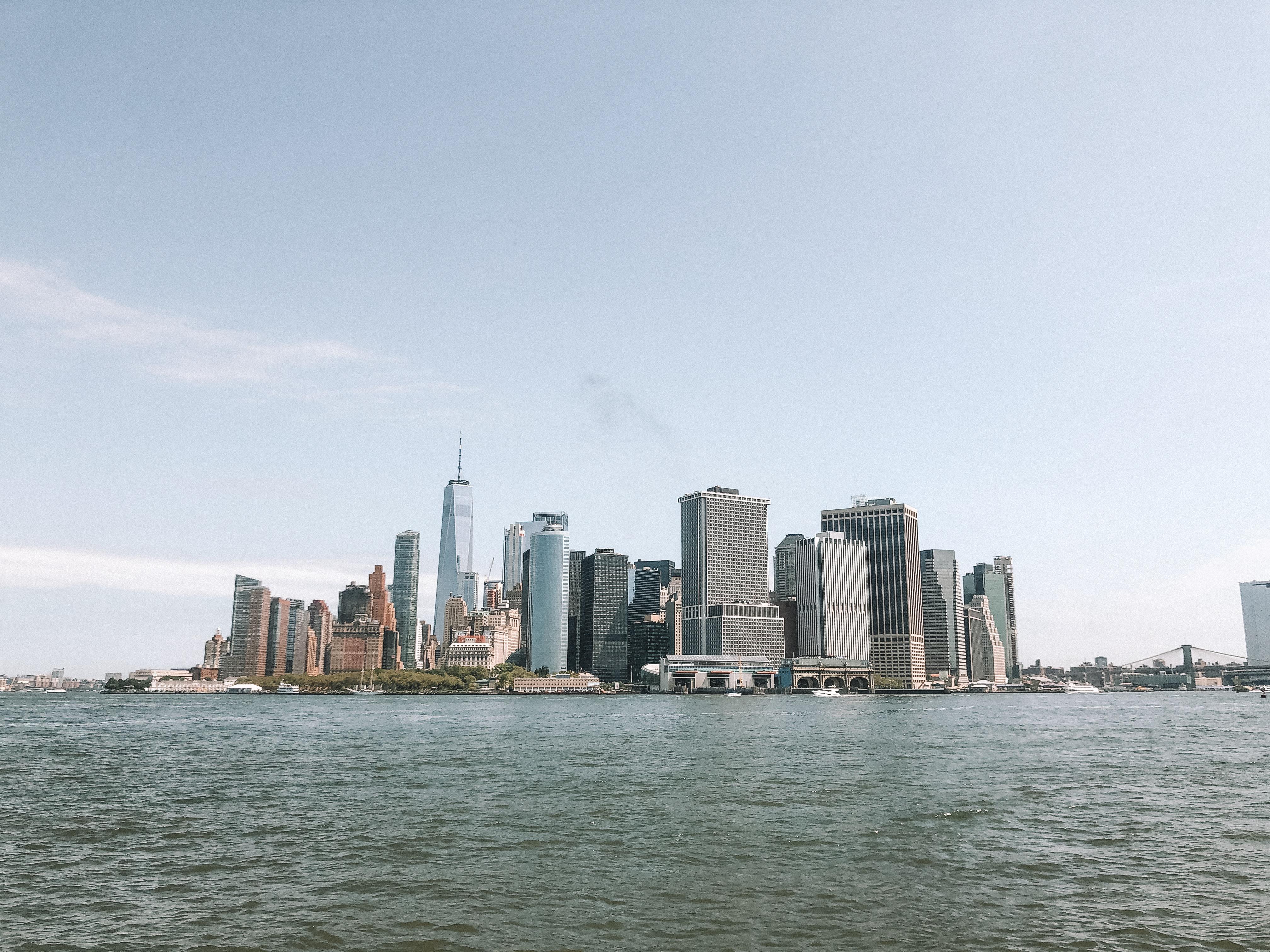 Skyline di New York da Governors Island