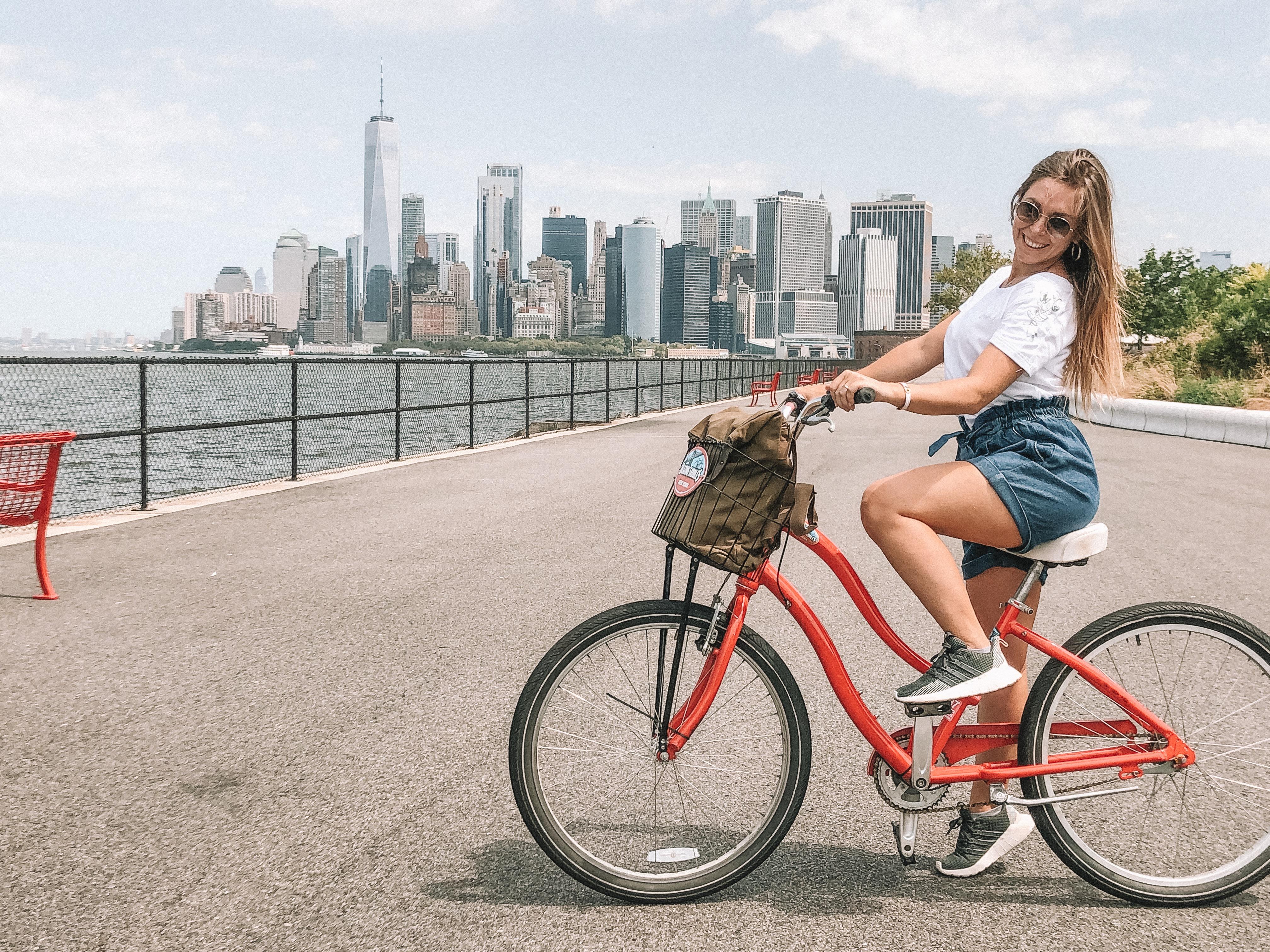Skyline New York: Governors Island