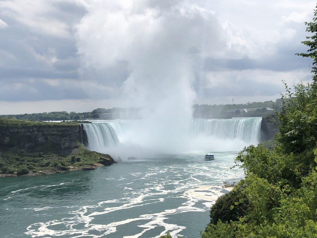 Niagara Falls lato canadese o americano
