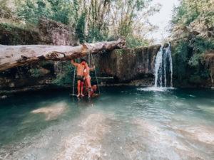 cascata bellisio solfare